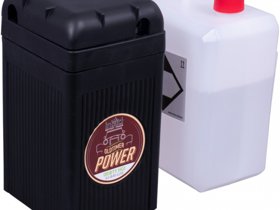 intact Oldtimer Battery-Power Classic, akumuliatorius motociklams (B49-6) 6V 8Ah  BMW Motorrad